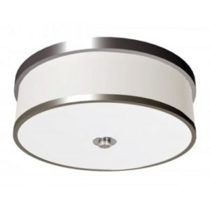 Acrylic Ceiling Light Fixture with Brushed Nickel Accents for Hampton Inn FYI CL11117