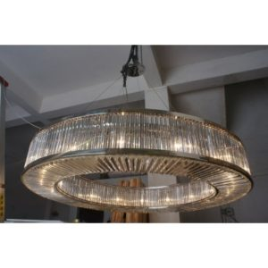 Custom Crystal Pendant Light Fixture