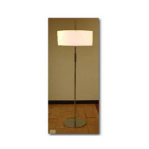 FLOOR-LAMP-W-WHITE-SHADE-X-306CA