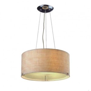 Drum Shade Pendant Lamp for Lobby PL31006